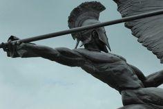 Parachute Regiment Memorial by jacquemart Greek Gods And Goddesses, Greek Mythology, Roman Mythology, Sculpture Art, Sculptures, Achilles And Patroclus, Parachute Regiment, Rome Antique, Greek Art