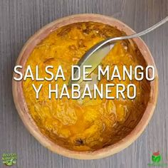 Salsa de mango y habanero - Rezepte - Recetas Authentic Mexican Recipes, Mexican Food Recipes, Soup Recipes, Cooking Recipes, Healthy Recipes, Cooking Corn, Cooking Steak, Camping Cooking, Tasty Videos