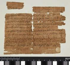 Image: Papyrus dating back some 1,500 years refers to Jesus' Last Supper and manna from heaven may be one of the oldest Christian amulets, say researchers. The fragment was likely folded up and worn inside a locket or pendant as a sort of protective charm,