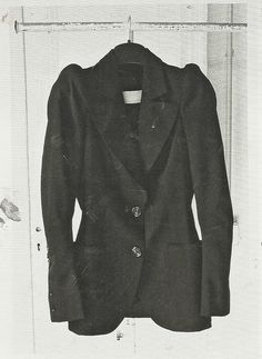first jacket, maison martin margiela spring summer 1989 by ronald stoops