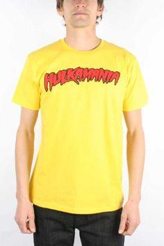 """Hulk Hogan """"Hulkamania"""" T-shirt"""