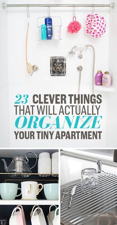 Phenomenal organizing powers. Itty bitty living space.