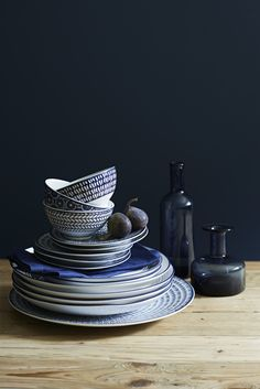 Indigo Home Accessories // Quality tableware that feels good to use makes such a huge difference to meal times!