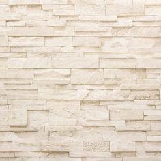 Wohnideen Vliestapete Stein Optik beige creme Mauer P+S How Ozone Air Purifiers Work The Brick Wallpaper Feature Wall, Marble Effect Wallpaper, Stone Wallpaper, Geometric Wallpaper, Wall Wallpaper, Wallpaper Ideas, Tapete Beige, Stair Mats, Carpet Underlay