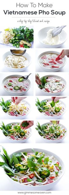 Vietnamese Pho Soup Recipe - so easy to make homemade!   gimmesomeoven.com #soup