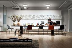 Inspiration home office ideas with velux Luz Natural, Natural Light, Modern Skylights, Interior Exterior, Interior Design, Interior Ideas, Cool Chandeliers, Skylight Window, Conduit