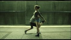 There will never be enough GIFs of this dance. | You Have To Watch This Couple Dancing On A Subway Platform. This is so cool!
