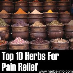 ❤ Top 10 Herbs For Pain Relief ❤
