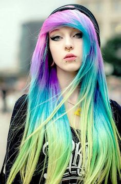 Image result for emo hairstyles for girls