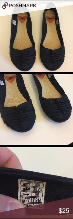 Rocket Dog flats Rocket Dog flats. Worn one time! Size 9, a comfortable fit. Can be dressed up or down. Rocket Dog Shoes Flats & Loafers