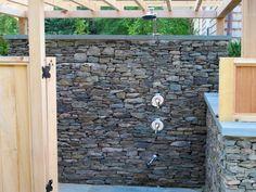 Outdoor Shower- Home & Garden Design Ideas