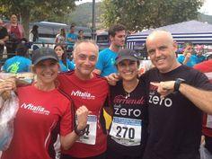 panes-potes llegada. primera carrea 28km para Ana Galván antes de su debut en maratón de NY 2014