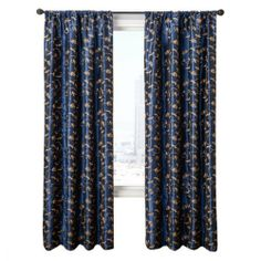 Diplomat Decor Brodeur 96-Inch Rod Pocket Panel, Navy by Diplomat Decor. $57.80. Panel measures 55-Inch by 96-Inch. All rights reserved. 55-Percent polyester 45-Percent nylon. Embroidered taffeta with Chenille accent. Diplomat Collection Brodeur 96-Inch Rod Pocket Panel, instantly updates your home decor. Available in 9 colors.. Save 27% Off!