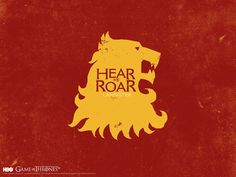 Motto of House Lannister: Hear Me Roar #GameofThrones