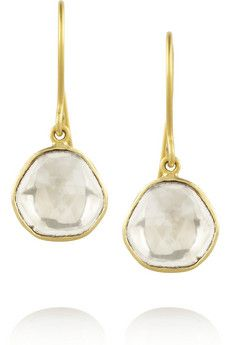 Pippa Small 18-karat gold diamond drop earrings   NET-A-PORTER