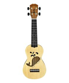 Take a look at this Kahuna Soprano Ukulele with Whale Soundhole on zulily today!