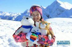 Cute!!! Winter games spirit!