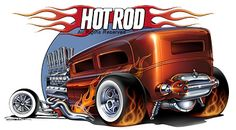 Famous Hot Rod Artists | Hot Rod Background