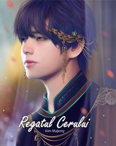 Imagine Tae as a prince with all these gold ornaments decorating him it'll be so damn hot damn Taehyung Fanart, V Taehyung, Bts Chibi, Grand Prince, Foto Bts, Bts Photo, Daegu, Vhope Fanart, V Bts Wallpaper