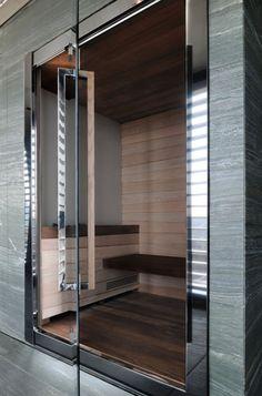 Sauna at Armani Hotel Milano