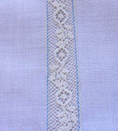 Creations By Michie` Blog: Lace Insertion