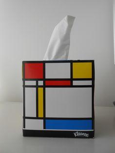 2013 Mondrian's Kleenex box www.bullesconcept.com