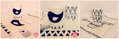 Sie - Art & Craft: Tazas ♥ Arts And Crafts, Amp, Home Decor, Mugs, House Decorations, Needlepoint, Manualidades, Decoration Home, Room Decor