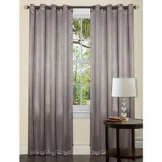 This style of curtain - not colour and single.