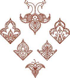 Mehendi - zdobienie henną