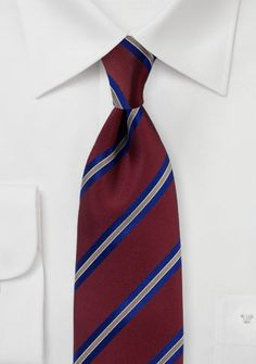 d89a5e839785 179 Best Striped Ties & Neckties images in 2019 | Blue ties, Striped ...