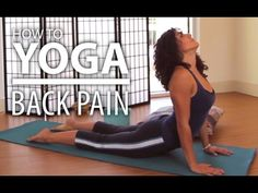 Yoga For Lower Back Pain - 15 Minute Back Stretch, & Flexibility Flow.