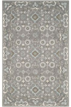 Charlie Area Rug - Transitional Rugs - Hand-tufted Rugs - Wool Rugs - Rugs Made In India | HomeDecorators.com