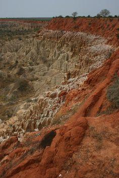 Miradouro da lua, Angola — février 2008