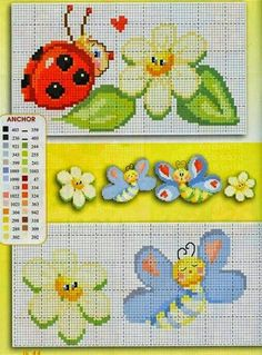 Brilliant Cross Stitch Embroidery Tips Ideas. Mesmerizing Cross Stitch Embroidery Tips Ideas. Cross Stitch For Kids, Cross Stitch Baby, Cross Stitch Charts, Cross Stitch Patterns, Butterfly Cross Stitch, Cross Stitch Flowers, Embroidery Patterns Free, Vintage Embroidery, Kitty Play