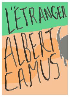 Albert Camus Létranger