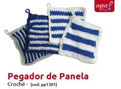 Pegador de Panela de Crochê | R$ 10,00 + frete | opabazar@gmail.com | https://www.facebook.com/opabazar
