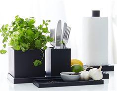 Krukke/Vase i Sort pur-gummi (SEJ Design) ➡ Lyn Hurtig Levering Knife Block, Kitchenware, Planter Pots, Vase, Bruges, Design, Kitchen Stuff, Home Decor, Style