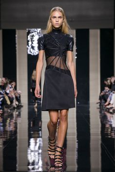 A look from the Christopher Kane Spring 2015 RTW collection.