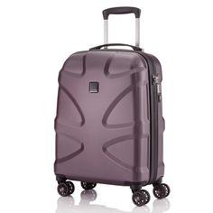 #Handgepäck TITAN X2 bei Koffermarkt: ✓Farbe maroon ✓4 Rollen ✓55 x 38 x 20 cm ✓Hartschale ✓leicht