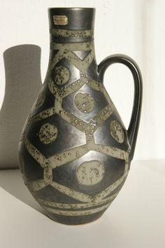 Vase Carstens Tönnieshof Dekor: ANKARA  Mid Century 50s 60s H:ca 35, cm