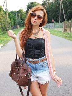 Vintage Style Riveted Faux Leather Handbag