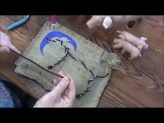Needle Felted Pig and Piglet: Part 1 Armature and Wrapping - YouTube