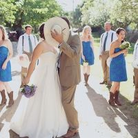 love the colors w/ the dresses and guys