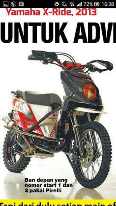 terbaru modifikasi yamaha x ride