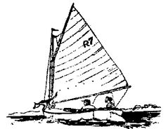 history of catboat design Beverly Yacht Club | History of the Beetle Cat Boat and the