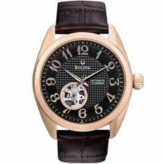 Bulova - Mens BVA Series 125 Automatic Watch - 97A104  RRP: £249.00 Online price: £149.40 You Save: £99.60 (40%)  www.lingraywatches.co.uk