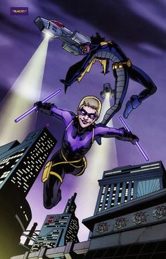 Stephanie Brown saw herself as Nightwing and Nell as Batgirl