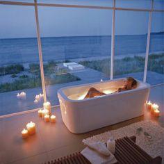 Relaxing. Love the lighted tub. #yankeecandle #myrelaxingrituals