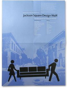 great modular poster series Jackson Square, Minimal Poster, Poster Series, Design Inspiration, Gallery, Roof Rack, Minimalist Poster