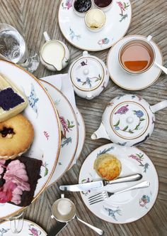 Tea at the Ham Yard Hotel, Central London